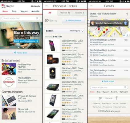 Ted Kilian - Multichannel Experience Design: SingTel.com