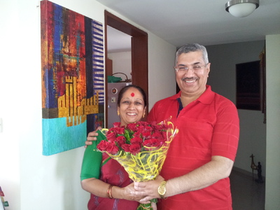 Salva Rasool - art & beyond - Mrs Renu & Mr Ravinder Babbar