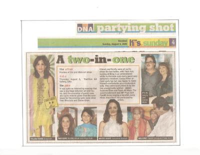 Salva Rasool - art & beyond - DNA, Mumbai - 9th Aug 2009, pg 4