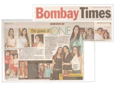 Salva Rasool - art & beyond - Bombay Times, Mumbai - 8th Aug 2009, pg 3