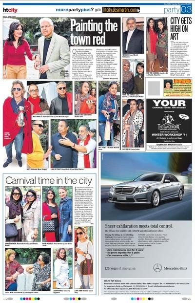 Salva Rasool - art & beyond - HT Times, New Delhi - 20th Dec 2012, pg 3
