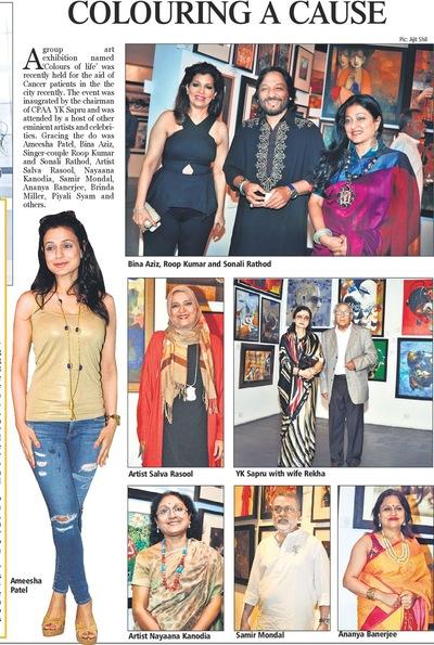 Salva Rasool - art & beyond - Absolute India, CPAA Colors of Life, 10th June 2015, pg 3.