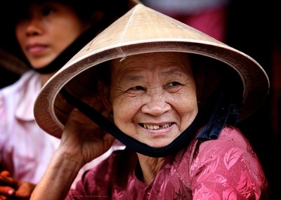face of vietnam - Thanh Toan Bridge Market, Hue