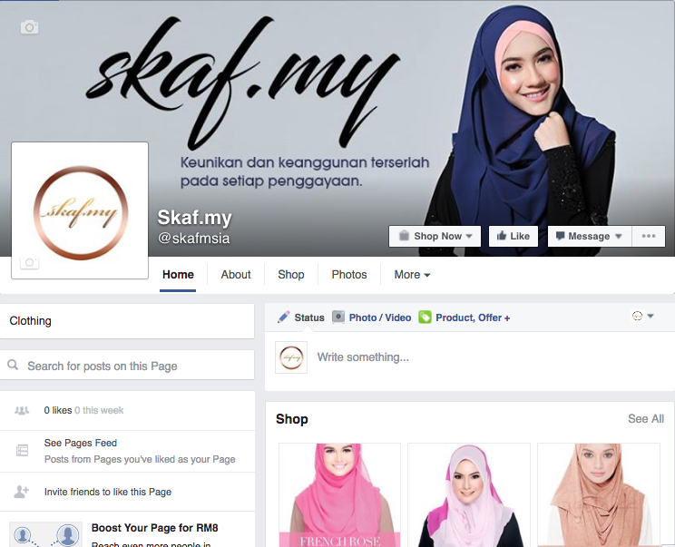 AZLAN ANDI - Skaf.my a leading scarves Malaysias website the licensed reseller for top hijab brands like Naelofar Hijab