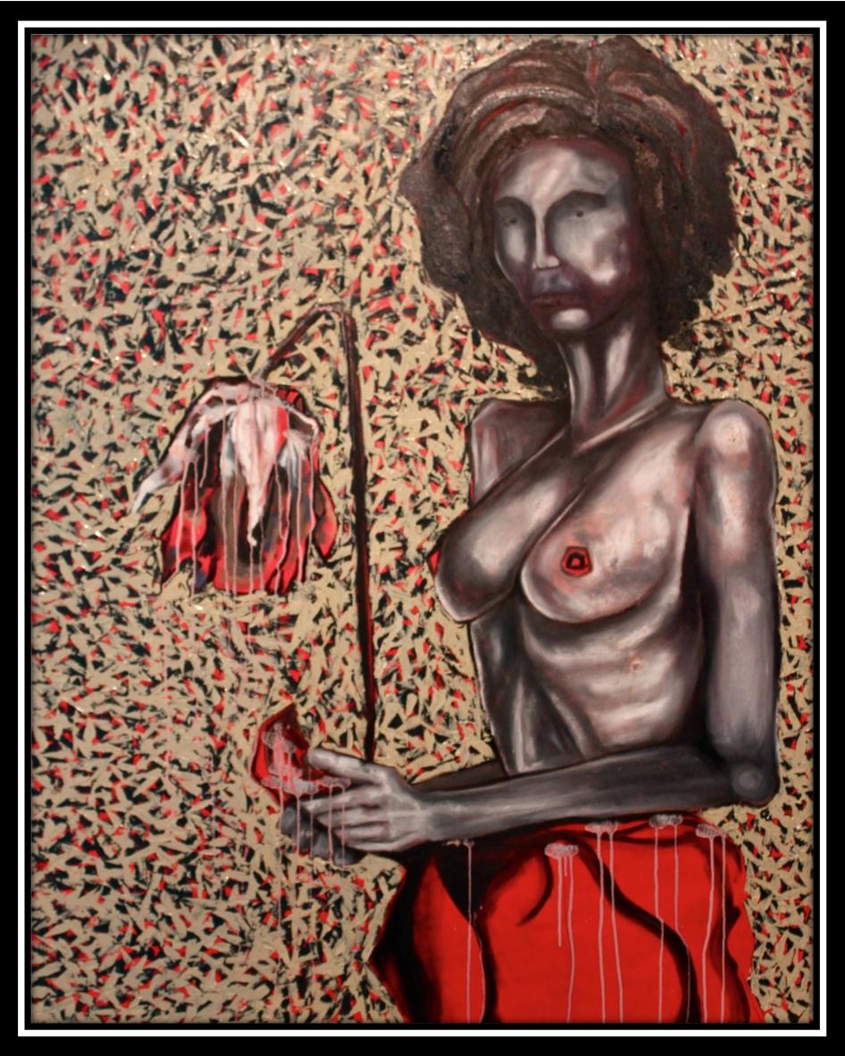 Rawin.artworks - Oil on canvas. 150x120 cm.