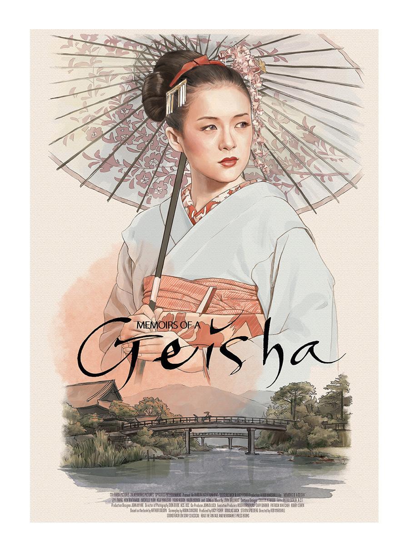 HANSWOODY - Memoirs of a Geisha