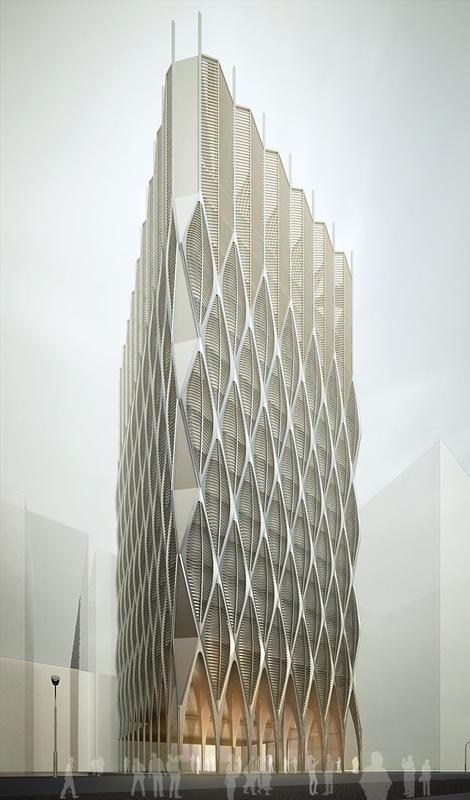 Cung Studio - Mạc Đĩnh Chi Tower 3/2015 In development Stage