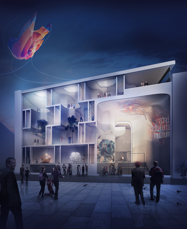 Cung Studio - Madrid Digital Art Museum 08/2014 - 10/2014 Honorable Mention Prize