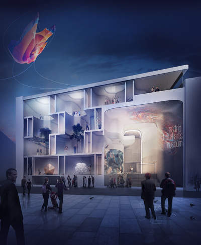 Cung Studio - Madrid Digital Art Museum Competition - Honorable Mention