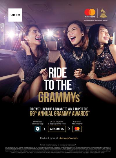 XINDI SIAU - Uber/ Mastercard Grammys