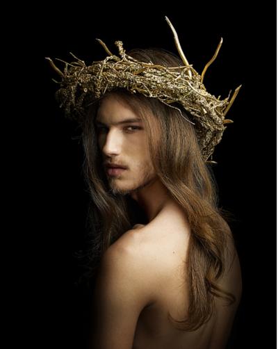 XINDI SIAU - Crown of Thorns. Wood. Acrylic