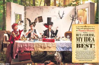 XINDI SIAU - Alice In Wonderland Full costumery