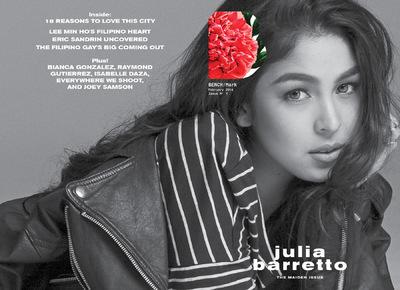 MJ BENITEZ - Julia Barretto, Benchmark Magazine (Maiden Issue)