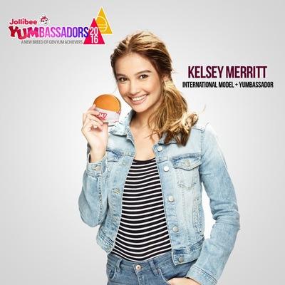 MJ BENITEZ - Jollibee Yumbassador 2016: Kelsey Merritt
