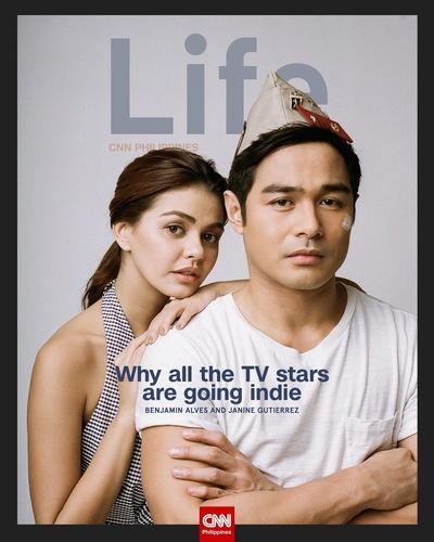 MJ BENITEZ - Janine Gutierrez, CNN Philippines Life (August 2016)