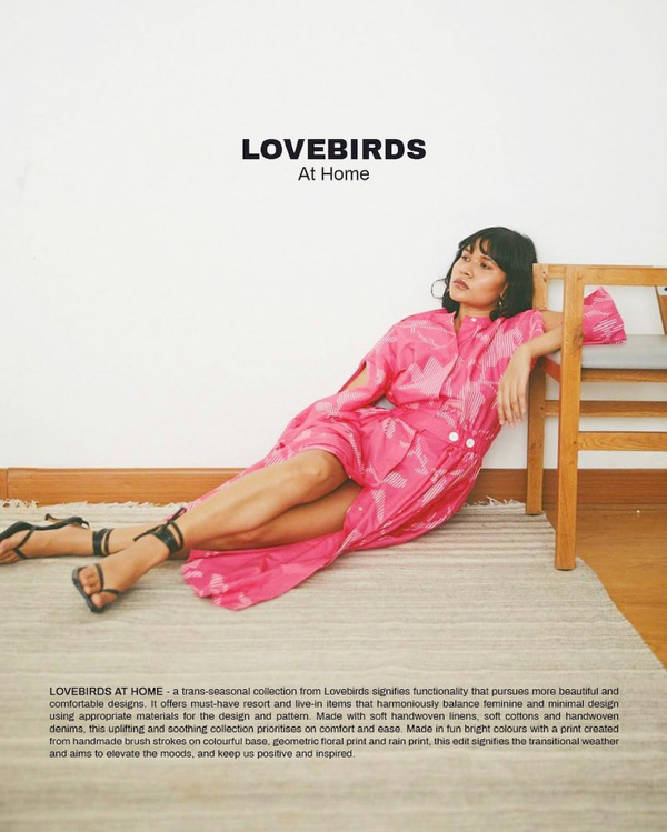 A Little Fly - Lovebirds At Home / Merrylin Boro