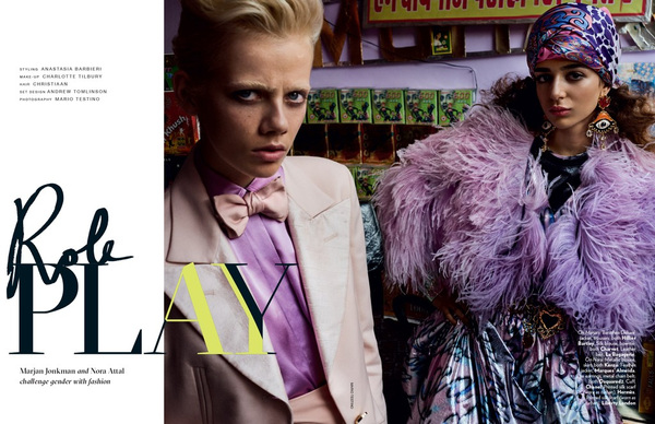 A Little Fly - Role Play by Mario Testino