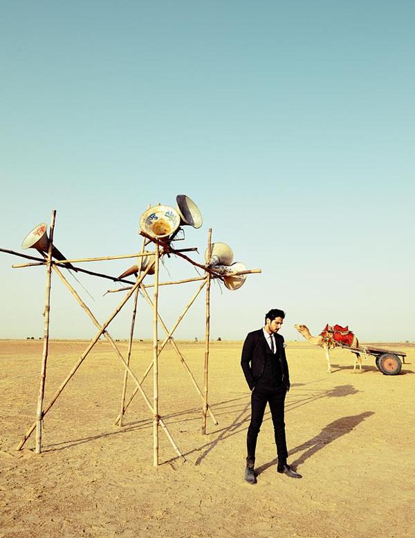 A Little Fly - Zayed Khan by Arjun Mark, GQ India