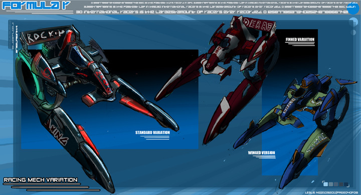 Long Robot Designs -