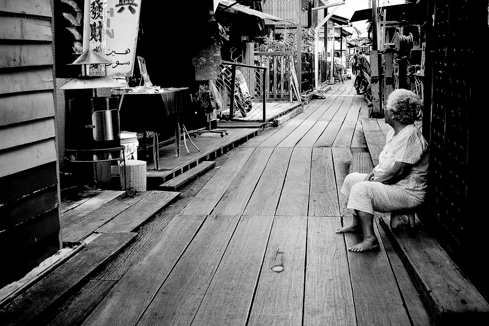 Caught In Time - Chew Jetty, Penang, Malaysia