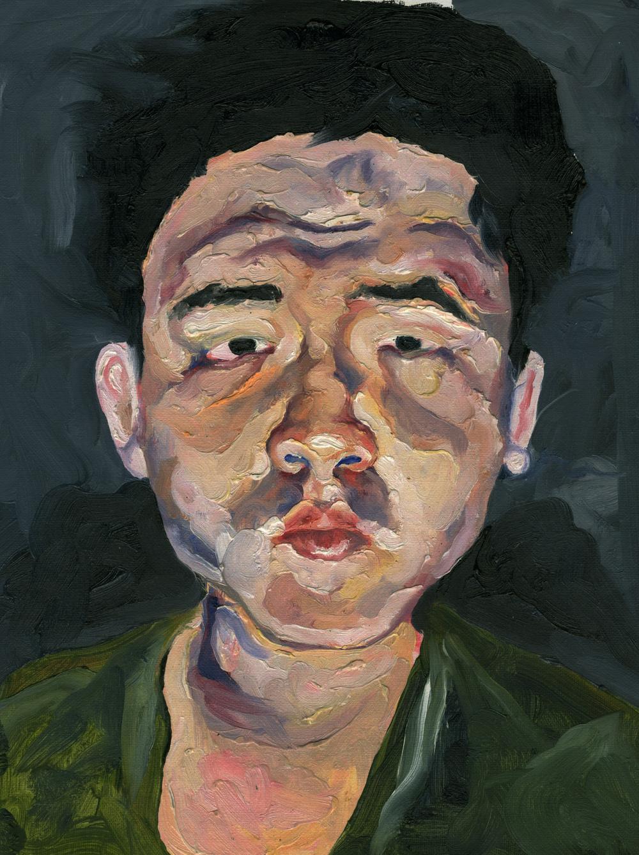 Ariel Navas - Joel (2013) Oil on canvas
