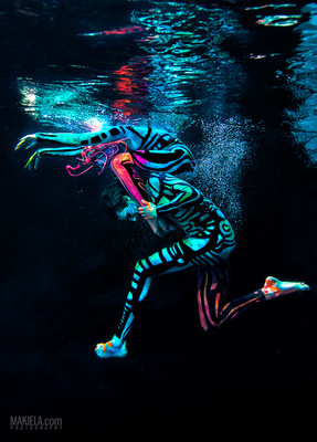 Dubai Photographer underwater, fashion, commercial, corporate, wedding - Underwater edytorial for Art Color Ballet