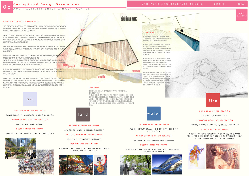 Architecture Design Thesis projects - architectural portfolio