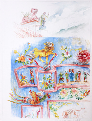 Alex Confer - Cheung Chau Temple: Studies