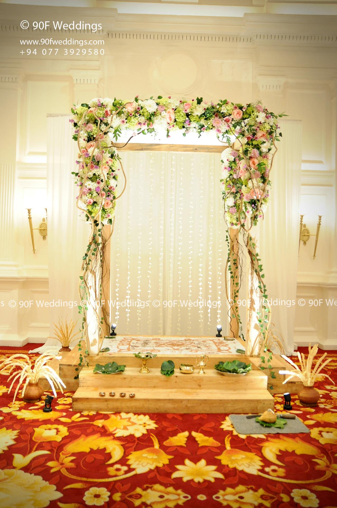 Wedding Poruwa Decorations