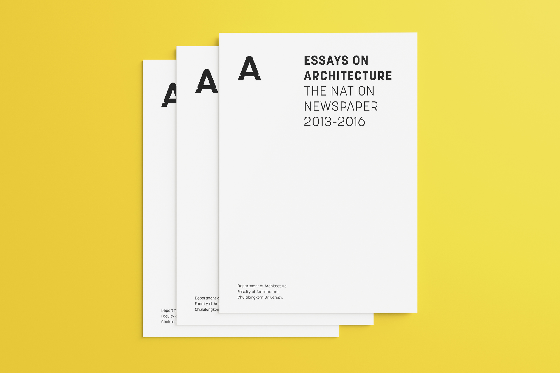essays on architecture