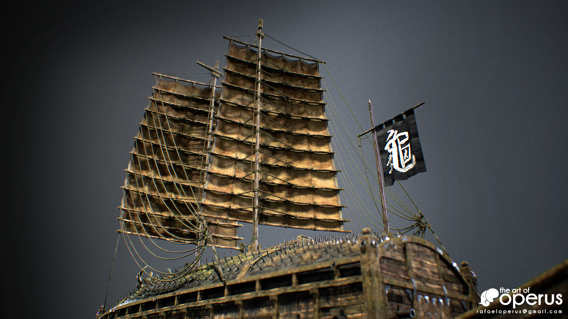 Turtle Ship Parts Of A Tall For Pinterest