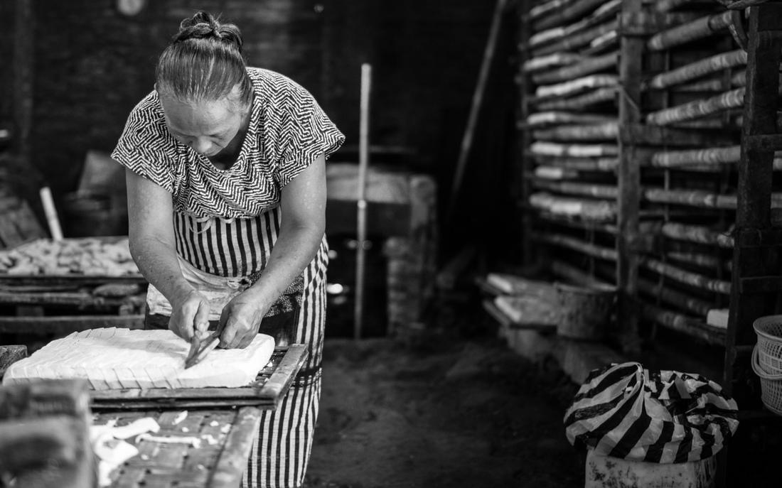 Tatas Brotosudarmo - Traditional Tofu Factory