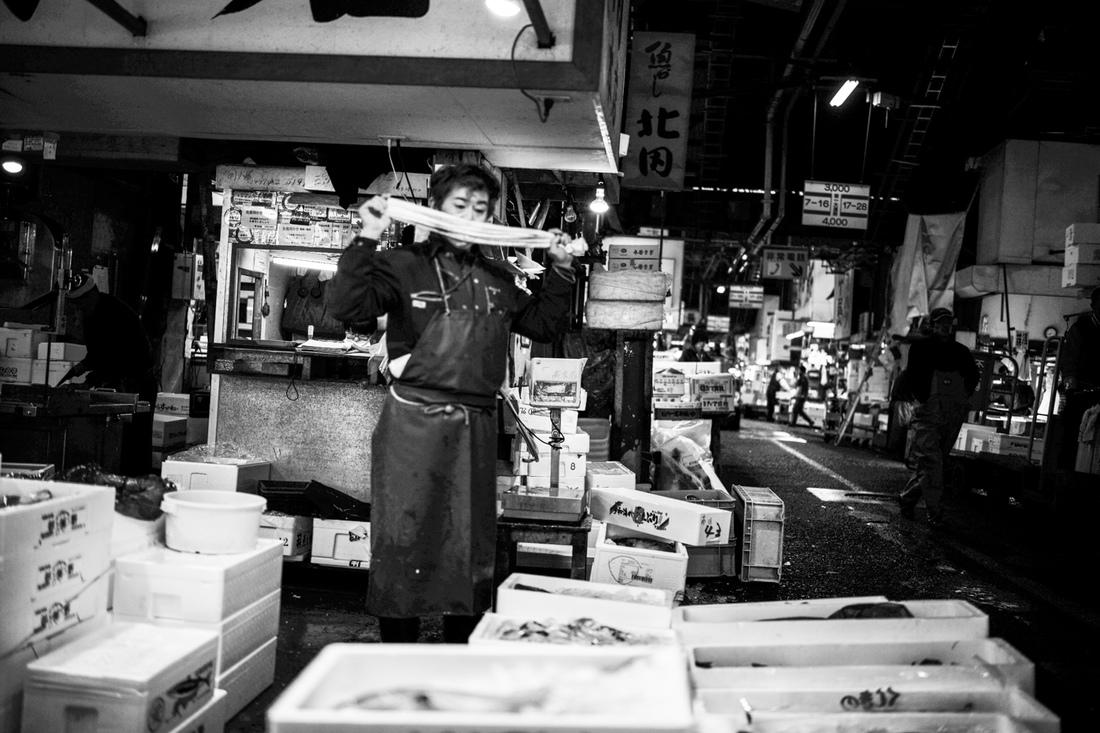 Tatas Brotosudarmo - Tsukiji Market Tokyo