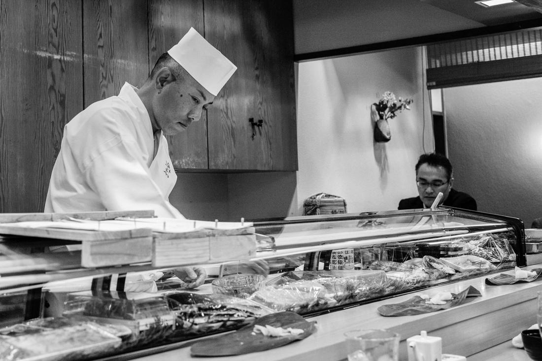 Tatas Brotosudarmo - Work at the Restaurant