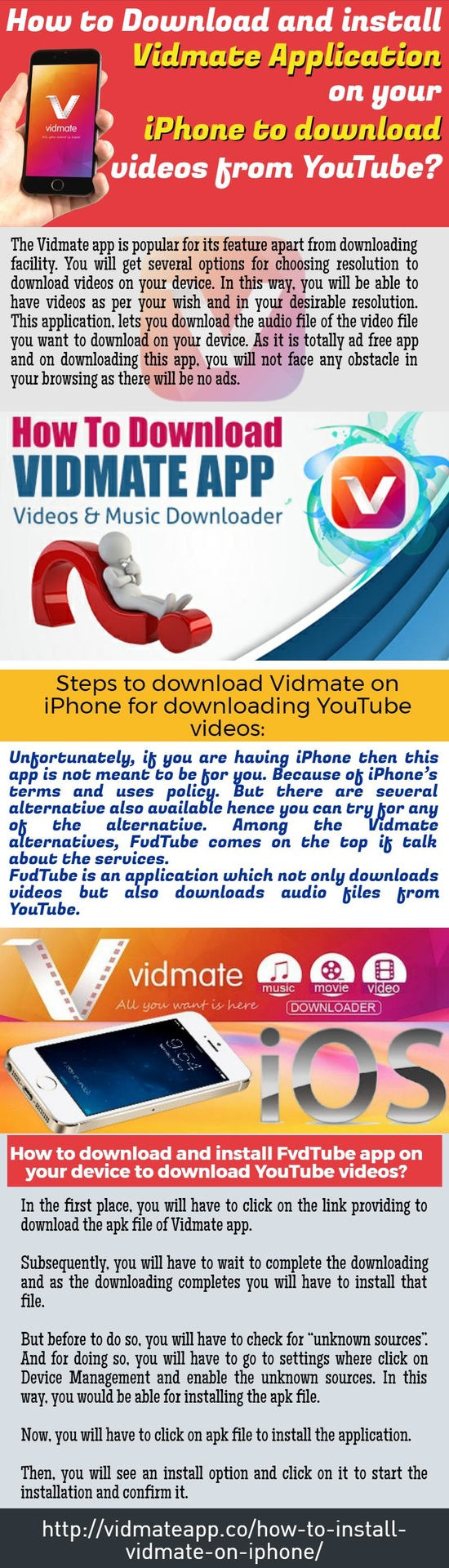 How To Download And Install Vidmate Application On Your iPhone To