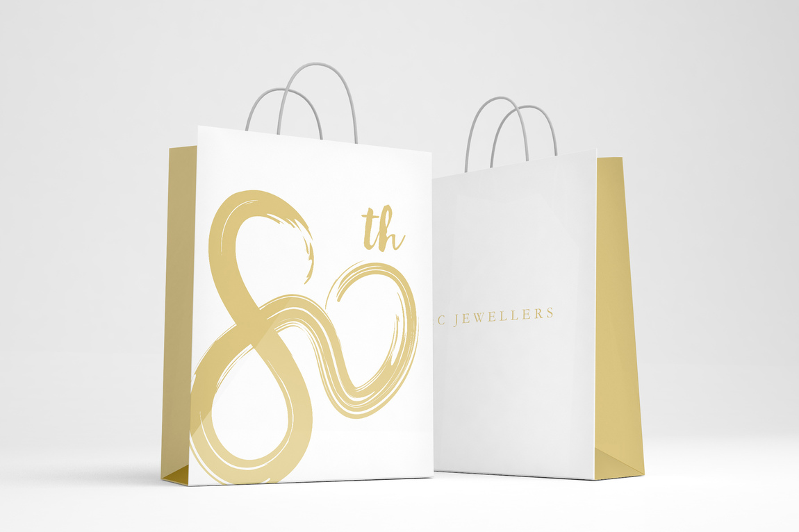 Joanna Shi - Graphic Design & Branding - O&C Jewellers 80th Anniversary