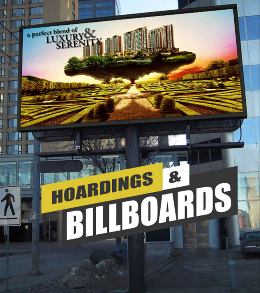 Yantram Studio - Hoarding Billboards Design Concept Real Estate Online Marketing Agency London,UK