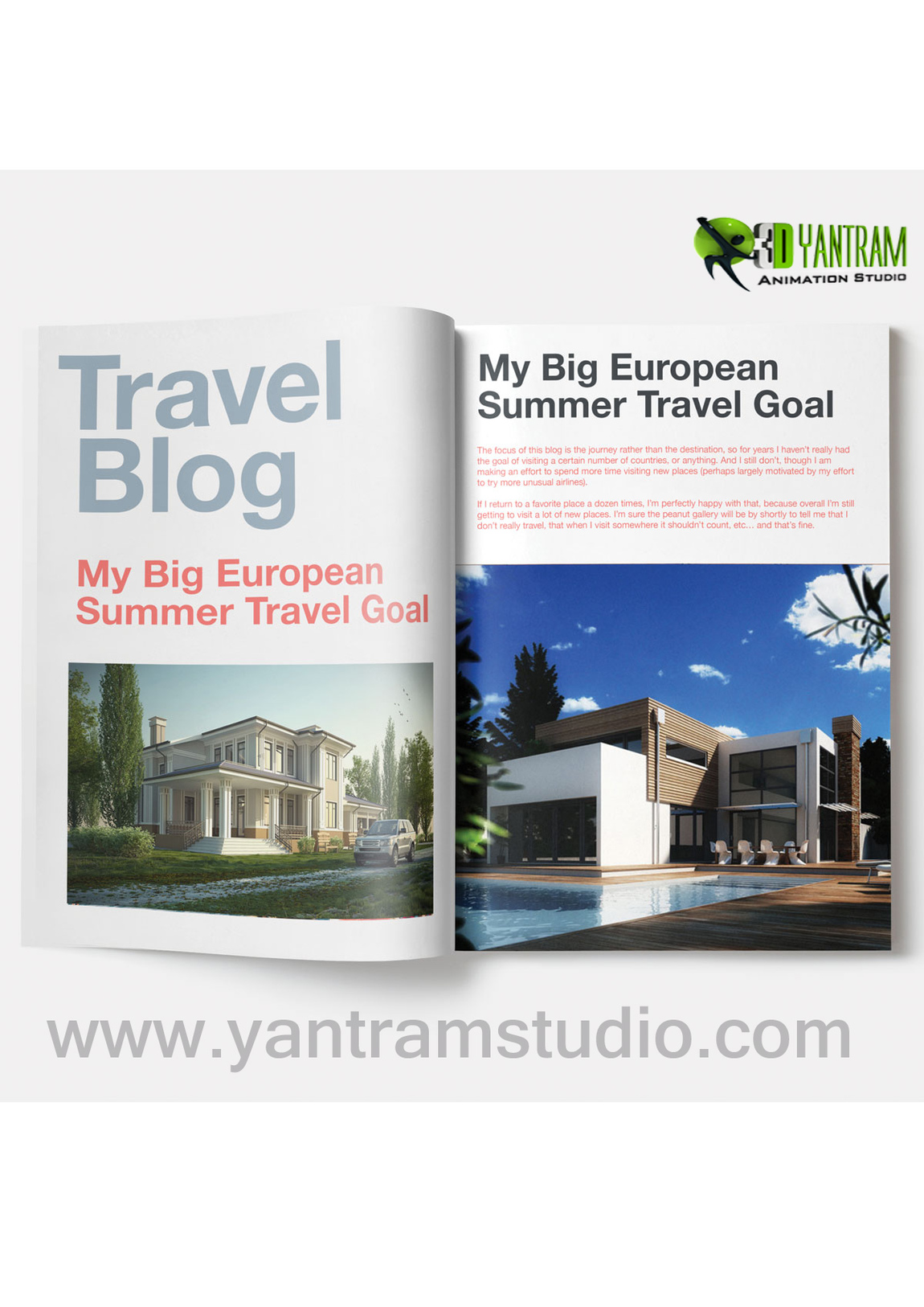 Yantram Studio - Real Estate Booklet Concept By Real Estate Web Development - New York, USA