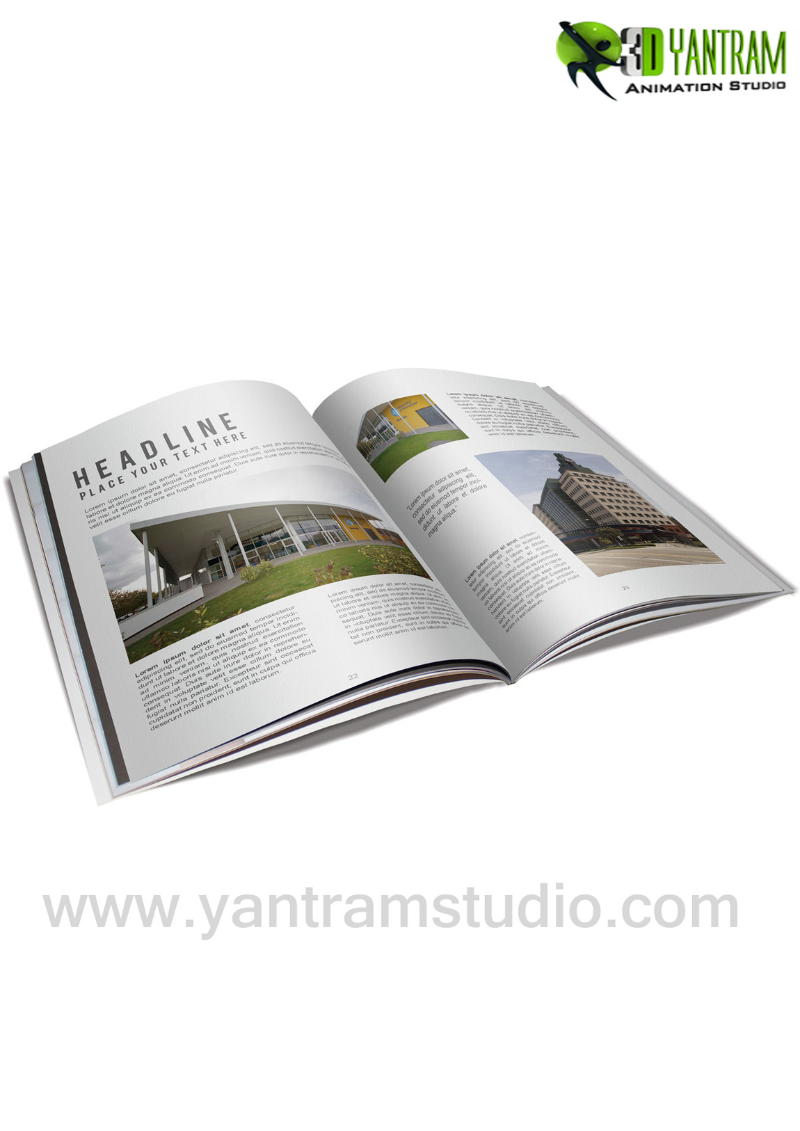 Yantram Studio - Real Estate Booklet Services By Yantram website development - Perth, Australia