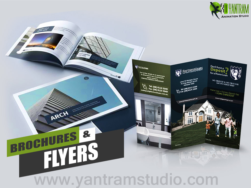 Yantram Studio - Brochure Design Ideas By Yantram Real Estate Web Development - Washington, USA
