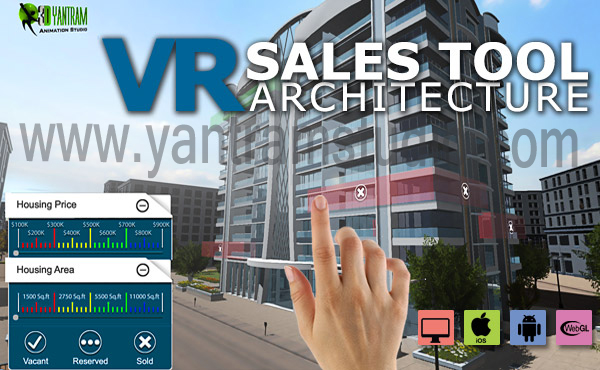 Yantram Studio - 3D Virtual Reality Real Estate Tool By Yantram Developer - Amsterdam, Netherland