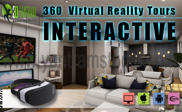 Yantram Studio - Interactive Interior App By Yantram virtual reality studio- San Francisco, USA