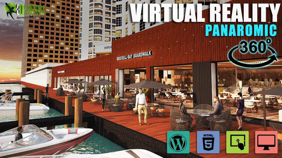 Yantram Studio - 360 Virtual Reality Web Based Application developed by Yantram Virtual Reality Studio, Toronto -  Canada