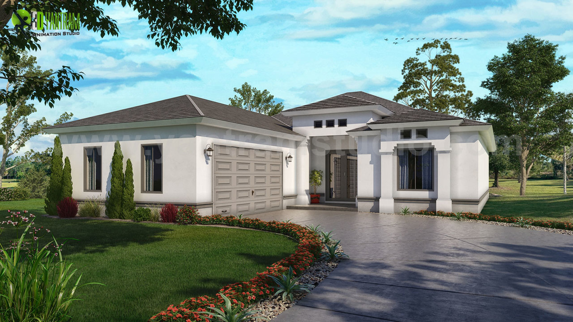 Yantram Studio - Unique 3D Exterior Home Rendering Services ideas by Yantram Architectural Rendering Companies, Miami - USA