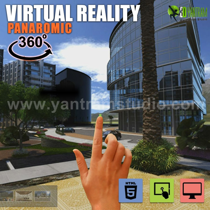 Yantram Studio - 360° VR Interactive Panoramic Video Developed by Yantram Virtual Reality Developer, Virginia - USA