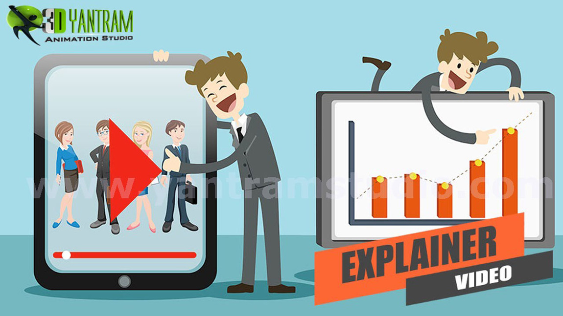 Yantram Studio - Animated Explainer Video using Motion Graphics Production by Yantram Digital Media Company, Dubai - UAE