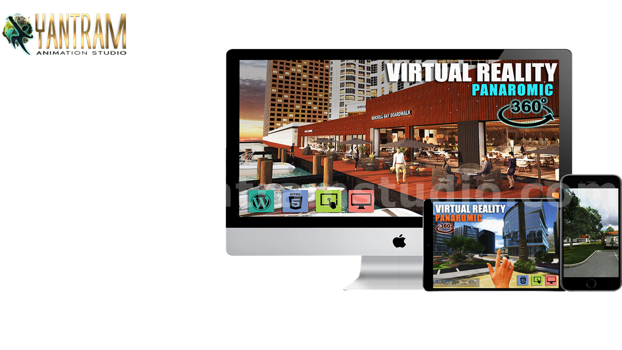 Yantram Studio - VR Real Time Application and 360 panoramic of virtual reality developer by Architectural Modeling Firm, California – USA