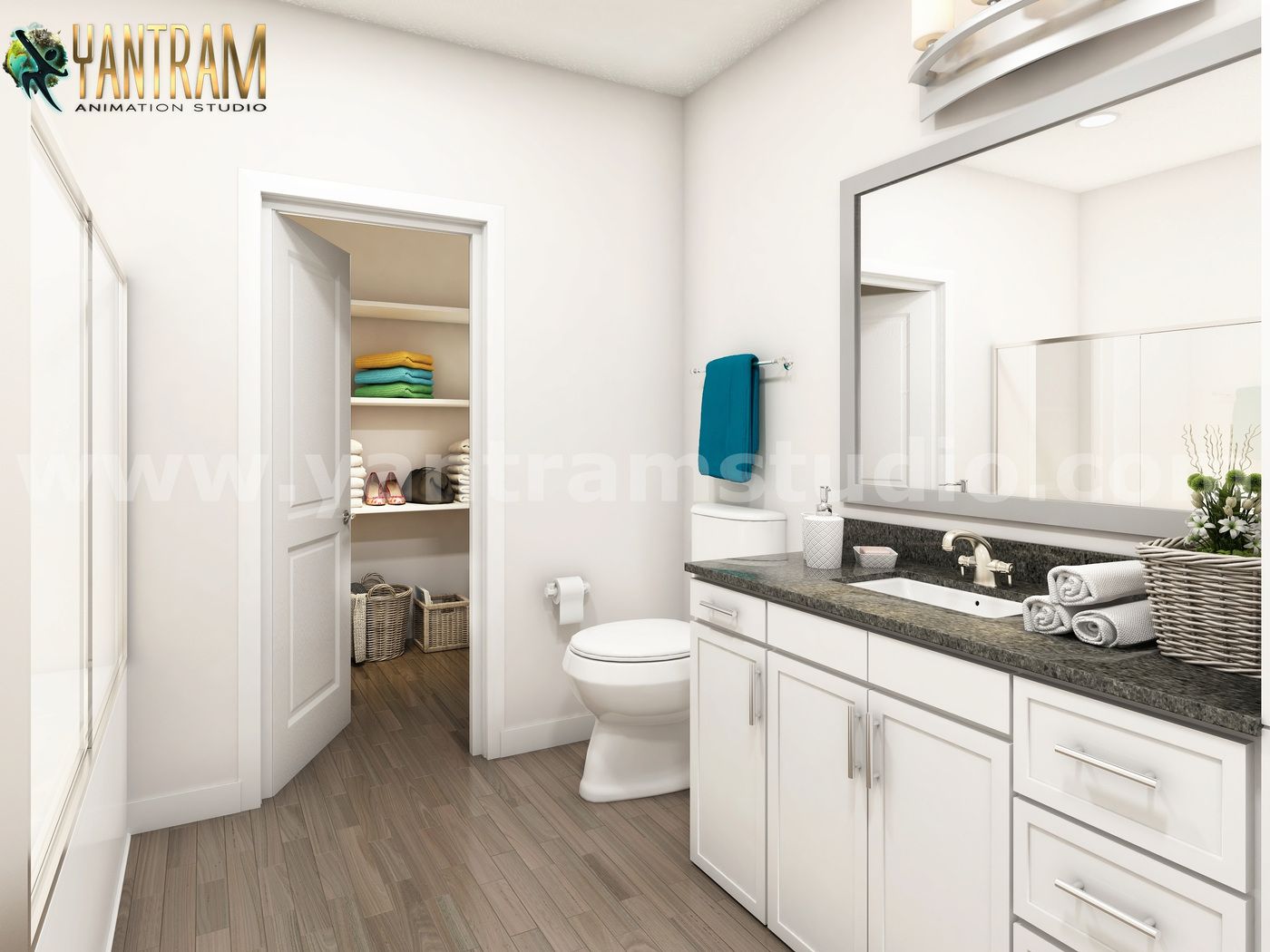 Yantram Studio - Latest Elegance Bathroom Architectural Design Home Plans by Architectural Planning Companies, Cape Town, South Africa
