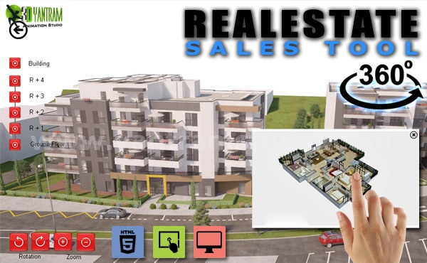 Yantram Studio - 360 Virtual Interactive Real Estate Sales Tool By Yantram Virtual Reality Apps Development, Berlin – Germany