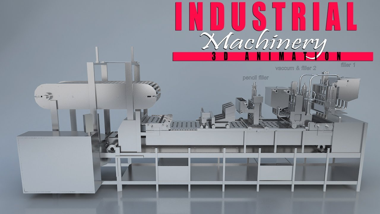 Yantram Studio - Latest Industrial 3D Product Animation Video By 3D Product Modeling Company - Charleston, West Virginia
